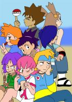 Teen Gym leaders: Johto+Kanto by AceofAbra