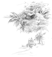 Environment Sketches by lunatteo