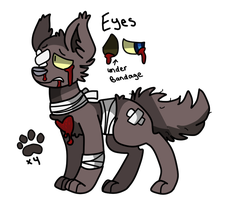 Injured Wolf OTA [ CLOSED ] by MudDogs