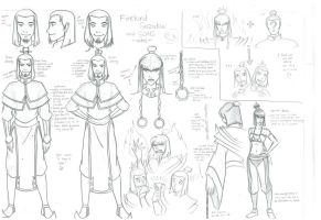 Firelord Suzaku and Sons - notes by mizzizabellaSMS