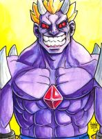 Sketchcard Power Stone Valgas Power Charge by fedde