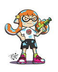Splatoon Girl by JesseDuRona