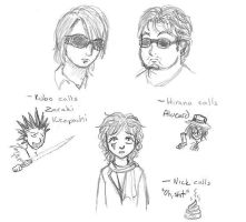 Nick Simmons VS Kubo and Hiran by SuirenShinju