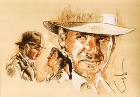indiana jones by carloesse
