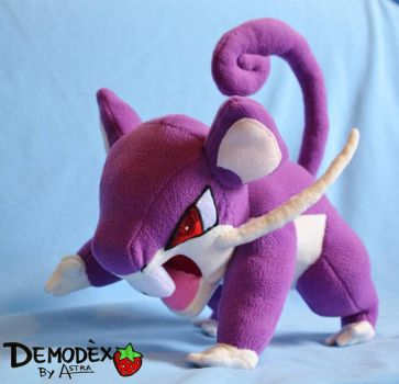 Rattata by DemodexPlush