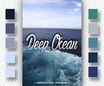 Deep Ocean // SWATCHES by FranceEditions