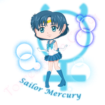 Chibi Chibi Sailor Mercury by TorresAdlinCDL91