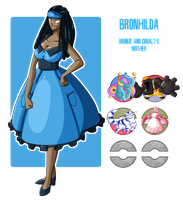 Fakemon: Bronhilda by MTC-Studio