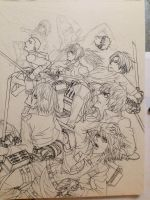 SNK WIP by orangeBLAZE002
