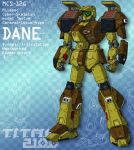 DANE with missile bays open (for T.I.T.A.N. 2100) by Grebo-Guru