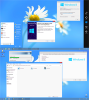 Windows 8 Style Pack 1.0 XP by nasrodj