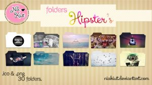 Folders hipster by Tutos Kiut by Niakiut