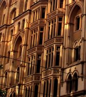 Collins Street Golden Building by moviegirl78