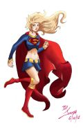 Supergirl by jabberjoseph