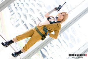 Cosplaymania 2012 Metal Gear Solid Snake Eater 02 by portpolyonamo1979