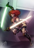 Jedi Knight Natalya Kamalas by JosFouts