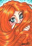ACEO #163 - Hair Monster by SailorAlcyone