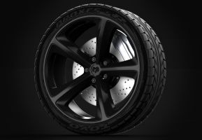 Dodge Charger Wheel by Imomchilov
