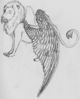 Scripio the Winged lion by zule-of-fire