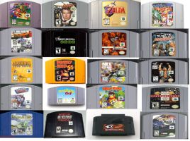 Nintendo 64 Collection by EonCooper