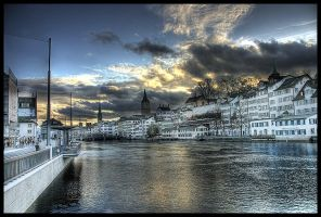 Zuerich I - HDR by Swissvoice