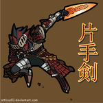MH Weapon Intro - SnS by Atticus83