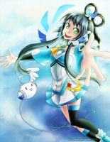 Vocaloid: Luo Tianyi by klinanime