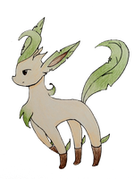 Pokemon Leafeon OC by Muruni