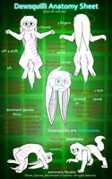 Dewsquilli Anatomy Sheet (NO LONGER ACCURATE) by Ice-Artz