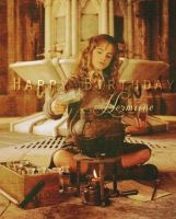Happy Birthday Hermione by Lennves