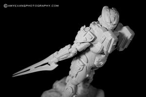 Halo 4 Master Chief Sculpt 2 by xar8