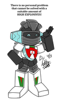 Wheeljack Explains by Starze