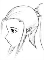 Sad Elf by pabloboy