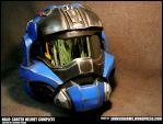 HALO Carter Commando Helmet Complete by JohnsonArms