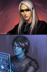 swtor - zaraj and harith by justduet