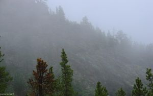 Foggy Mountains 2 by powowcow