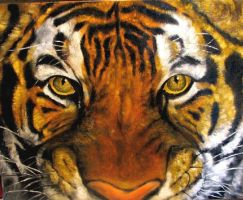 Tiger mask original painting by belka10