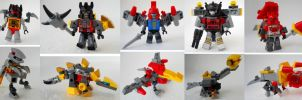 Kre-O Dinobots by Homicide-Crabs