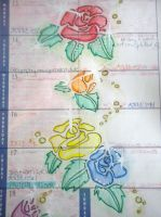 Page of my diary: Flowers by Cardcaptor-Sophia