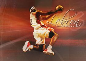 Lebron James by skyrill