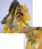 MLP Lily Detail close up by eponyart