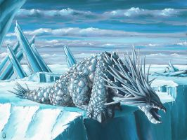Ice Dragon by Parthgalen
