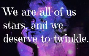Marilyn Monroe in SPACE w/quote by Rickaferd
