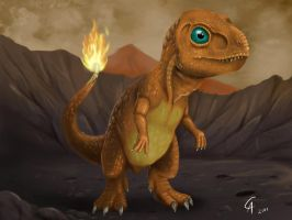 Real Charmander by CamusAltamirano