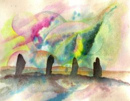 Ring of Brodgar by dlighted