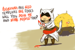Assassin Kitty Poem by anastasia100