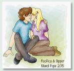 For The Fans of Dipper x Pacifica by MandiPope