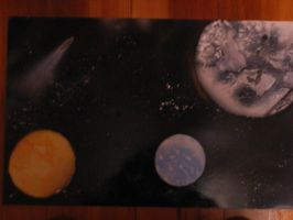 Space Paintings by dotgfx