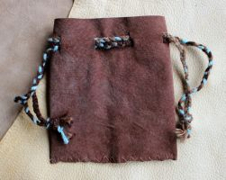 New drawstring pouches - 11-5-13 by lupagreenwolf