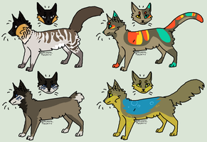Cat adoptables 4 (OPEN) by homeqrown